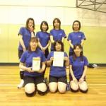 第10回春季大会女子の部優勝(AQUA)